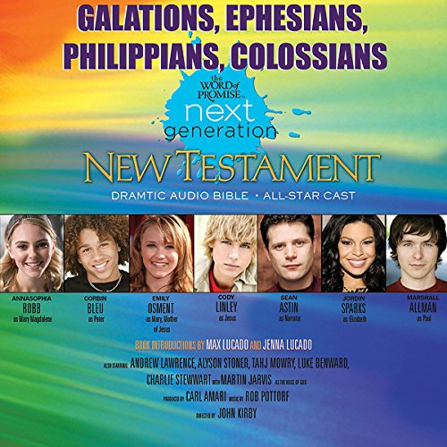 (31) Galatians-Ephesians-Philippians-Colossians, The Word of Promise Next Generation Audio Bible cover art
