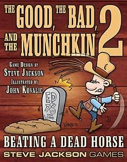 PSI Munchkin Good Bad & The Munchkin 2 Beating a dead horse Board Games