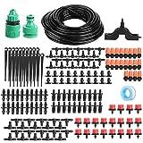 WNSC Sistema de riego por Goteo, Kit de Manguera de Planta de riego de PVC Duradero, Kit de riego automático, para Balcones, cestas Colgantes