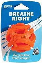 Chuckit! Breathe Right Fetch Ball, Orange, Medium