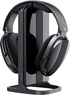 $65 » Sponsored Ad - Wireless Headphones for TV Watching, Over Ear Headsets with Wireless 2.4G RF Transmitter Charging Dock, 100...