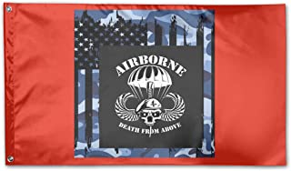 BOUFLAGON Death from Above 3x5 Ft Flag - Vivid Color - Tea Party Flags