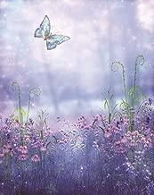 WOWDECOR 5D Diamond Painting Kits, Dream Purple Lavender Butterfly, Full Drill DIY Diamond Art Cross Stitch Paint by Numbers