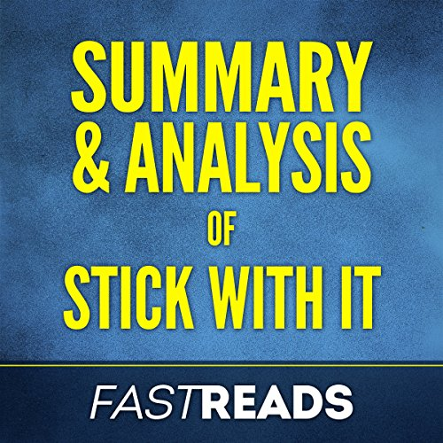 Summary & Analysis of Stick with It, with Key Takeaways audiobook cover art