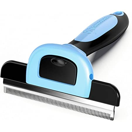 MIU COLOR Pet Grooming Brush, Deshedding Tool for Dogs & Cats-Effectively Reduces Shedding by up to 95% for Short Medium and Long Pet Hair