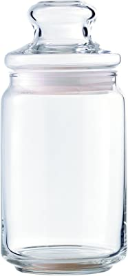 Ocean Pop Jar Set, 750ml, Set of 6, Transparent