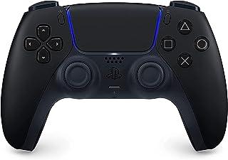 وحدة تحكم دوال سينس لاسلكية لجهاز PlayStation 5: نسخة المملكة العربية السعودية - لون اسود داكن