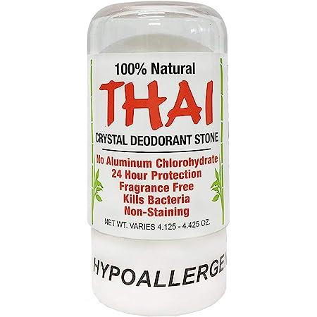 Deodorant Stones of America: Thai Crystal Deodorant, 4.25 oz (Pack of 2), Packaging May Vary
