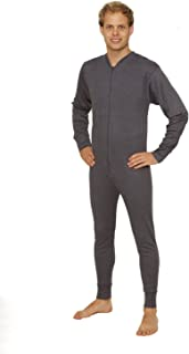 Mens Thermal Underwear All in One Union Suit/Thermal Body Suit