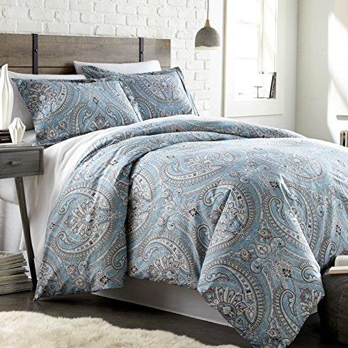 Southshore Fine Linens - The Pure Melody Collection - Comforter Sets, 3 Piece Set, Full/Queen, Aqua