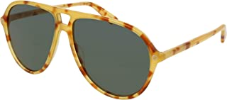 غوتشي نظارة شمسية للجنسين ، رمادي ، افييتور ، GG0119S_004