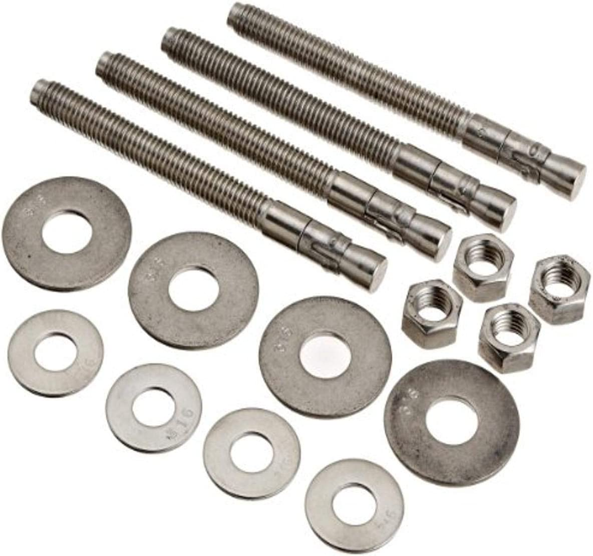 Pentair 155800 Special Special price price for a limited time Wedge Anchor Replacement Kit Horizonta THS-Series