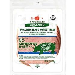 Applegate, Organic Uncured Black Forest Ham, 6oz