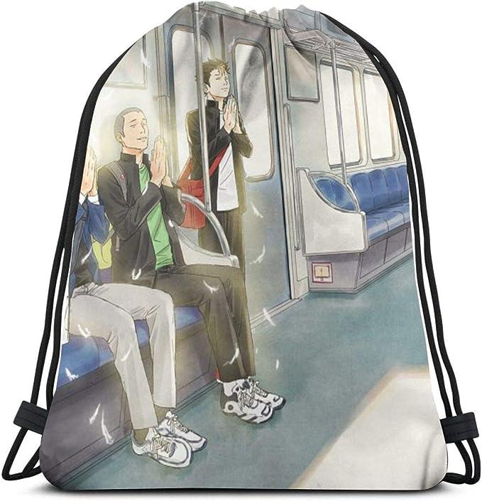 Aizawa Kawaii Strawberry Milk Shake Drawstring Bag Sport Gym Backpacks Storage Goodie Cinch Bag