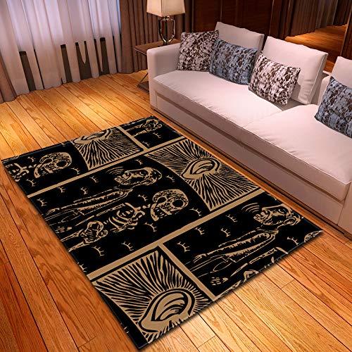 Michance Europäische Art Mode Wohnkultur Realistisches Muster Teppich Langlebige Und Waschbare Fußpolster Haustier Matte Hat Keinen Geruch