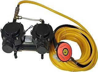 HPDMC 12V 160W Oil-less Diaphragm Pump, Hookah Dive System Compressor, Third Lung Serface Air New - LM70