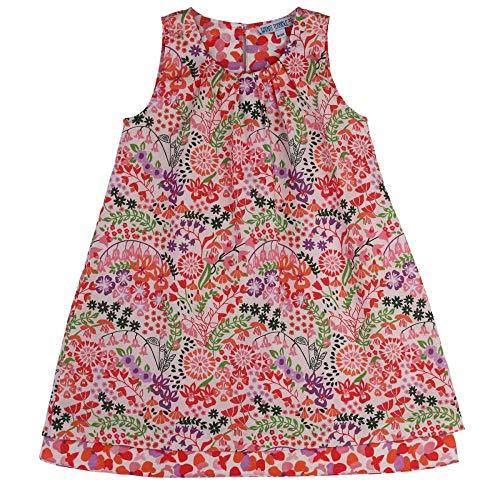Enfant Terrible meisjes omkeerbare jurk bloemetjes puur biologisch katoen