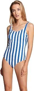Rösch Beach 1215527-16423 Women's Royal Stripe Swimsuit