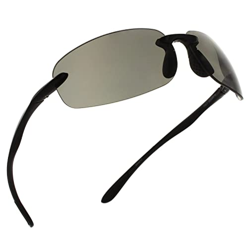 fdc679334d93 Fiore Island Sol Polarized and Non-Polarized Sunglasses Rimless TR90 for  Men and Women