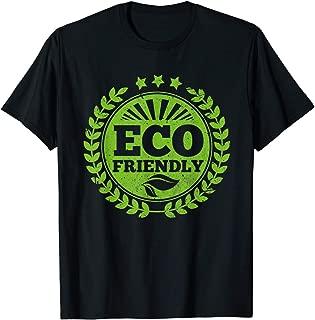 TIANLANGHB Eco Friendly Save Planet Green Earth Protect World Bio T-Shirt