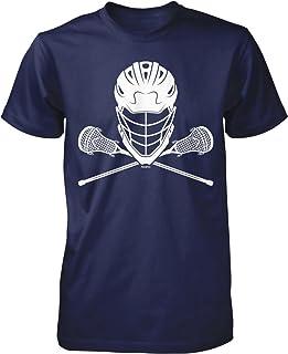 NOFO Clothing Co Lacrosse Helmet and Sticks Men's T-Shirt