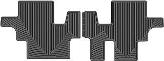 WeatherTech W311 Rubber Mat, Rear, Black
