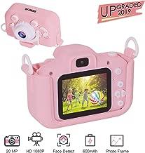 Kids Camera for Girls, SEIEUS Digital Dual Camera, 2
