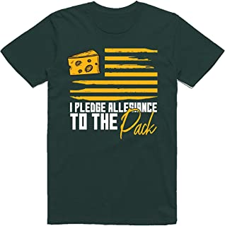 Green Bay Football Fans - I Pledge Allegiance to The Pack Flag Classic T-Shirt