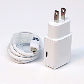 Good OEM Professional Kit for Huawei ALP-L09 Quick Charge 3.0 Adaptive Fast Wall Charger Includes 2 Cables for USB-C and MicroUSB!