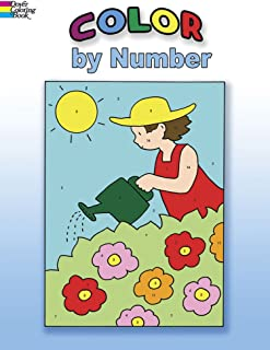 Color by Number (Dover Coloring Books)