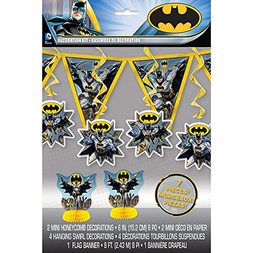 Unique Party Batman Décorations de fête