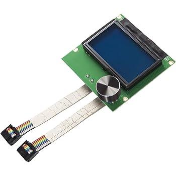 Tonysa CR-10S /Écran dAffichage LCD pour Imprimante 3D Accessoires dImprimante 3D /écran LCD avec 2 C/âbles pour Imprimante 3D CR-10S de Creality