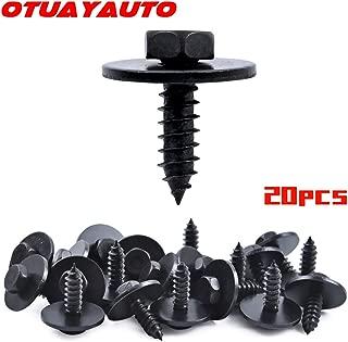 OTUAYAUTO Hex Head Screw, for BMW E90 E83 E82 E71 E70 E66 E63 E60 E46 Bumper Cover Screw - Replace OEM: 07147129160-20pcs