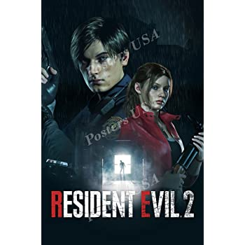 Amazon Com Primeposter Resident Evil 2 Remake Poster Glossy Finish Made In Usa Nvg225 16 X 24 41cm X 61cm Posters Prints