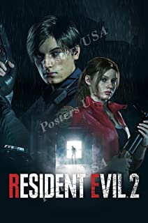 MCPosters Resident Evil 2 Remake PS4 XBOX ONE Poster GLOSSY FINISH - NVG225 (24