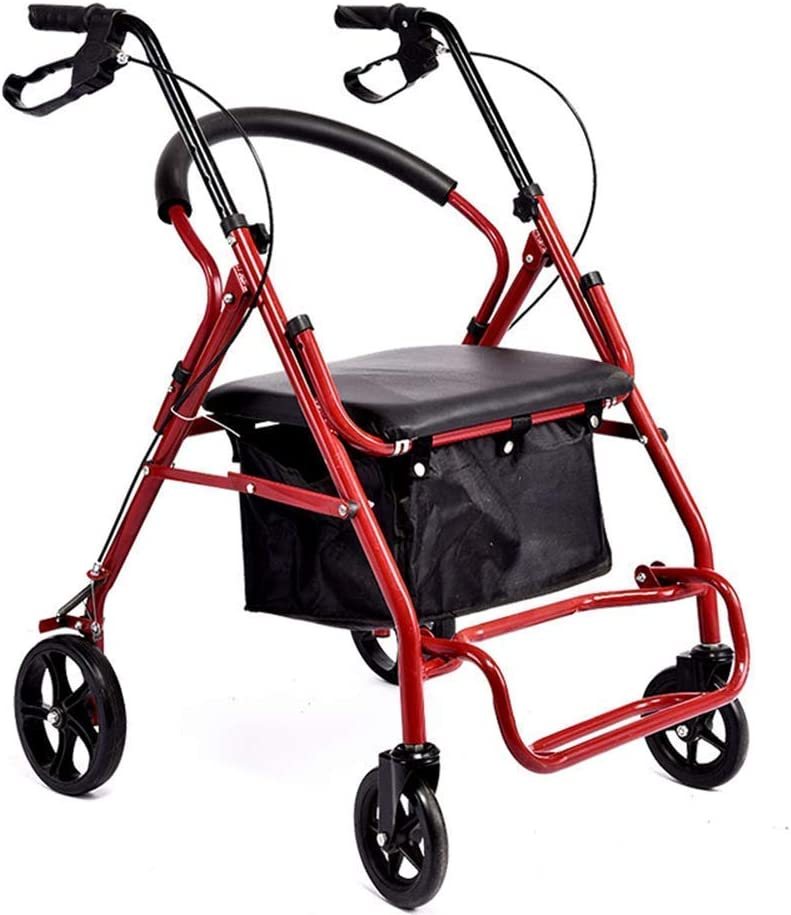 Now Jacksonville Mall free shipping QIQIZHANG Walkers for Seniors Walking Frame Walker Rollator with