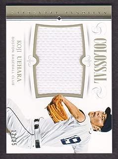 2014 Panini National Treasures Baseball Colossal Jersey #45 Koji Uehara 12/25 Boston Red Sox