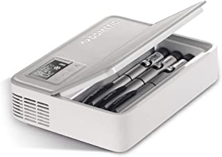 Bärbart medicinskylskåp (Inbyggt batteri + mobil ström) Medicin Kylskåp Mini Med väska Bilkylskåp 2-25 ℃ Kylmedicinlåda