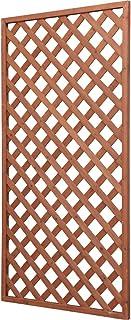 アイリスオーヤマ ラティス W-918 ブラウン 幅90cm×高さ180cm