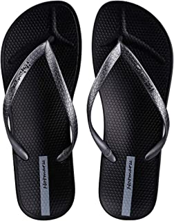 Women's Slim Flip Flops Concave Sole Sandals Beach Slippers Shower Slides