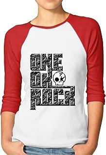 SAXON Women's Fashion One Ok Rock Logo Raglan T-Shirt