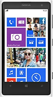 Nokia Lumia 1020 RM-877 32GB AT&T Locked 4G LTE Smartphone w/ 41MP Camera - White