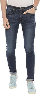 Swiss Club Mens Solid Casual wear Slim Fit Denim(D-SC-15 C-SL-DBL-LY_36 INCH)