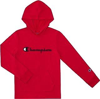 Champion Boys Long Sleeve Classic Hooded Tee Shirt Kids Clothes