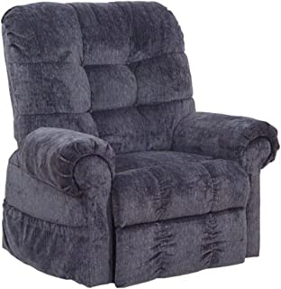 Catnapper Omni Power Lift Full Lay-Out Chaise Recliner Chair in Black Pearl