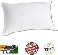 BuyFeb® Best Night Sleeping Dream Fibre Soft Pillow - 40 x 61 cm, White