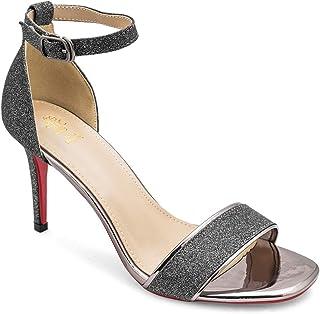 tresmode Women's Black Fashion Sandals Looks