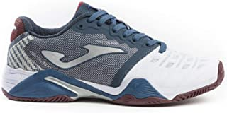 Joma Tennis Shoes for All The Lands T_PRO Roland 902 White-Navy