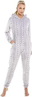 Pijama de una Pieza con Cremallera y Capucha Forro Polar
