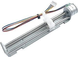 Sunhokey DC 4-9V Drive Stepper Motor Screw with Linear Nut Slider for DIY Laser Engraving Machine